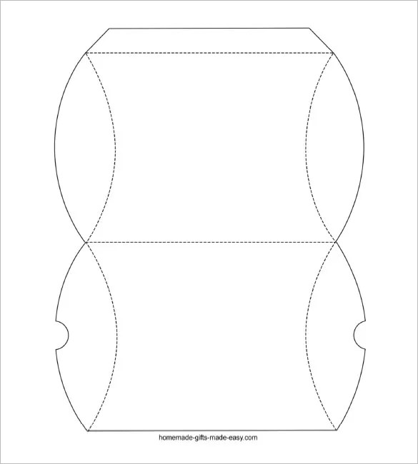 Packaging nets template