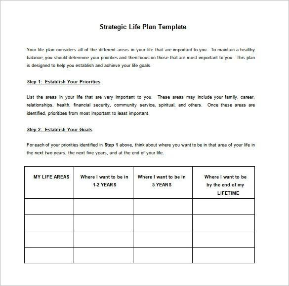 9 Strategic Action Plan Templates  DOC PDF  Free