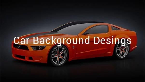 22 car backgrounds psd