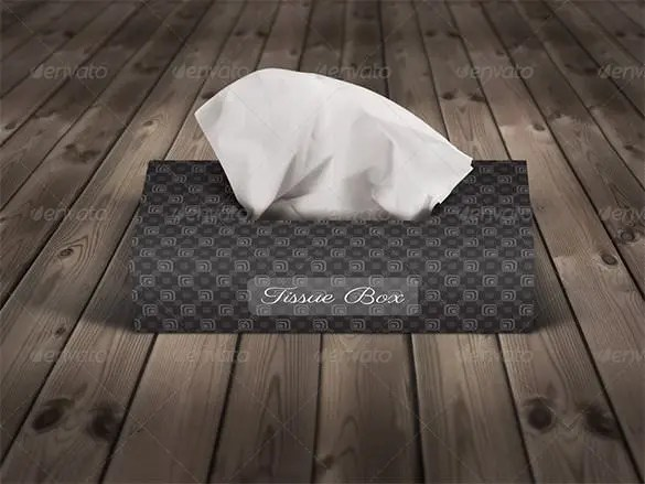 Tissue Box Template  11 Sample Example Format Download