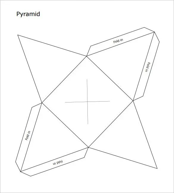 Pyramid Box Template  15+ Free Sample, Example, Format