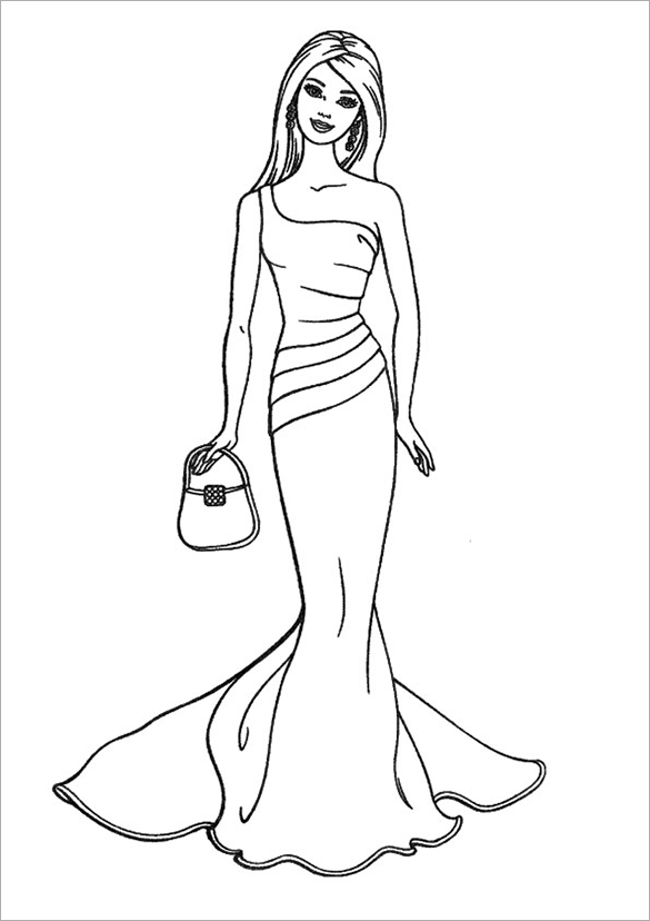 Barbie Spy Squad Coloring Coloring Pages