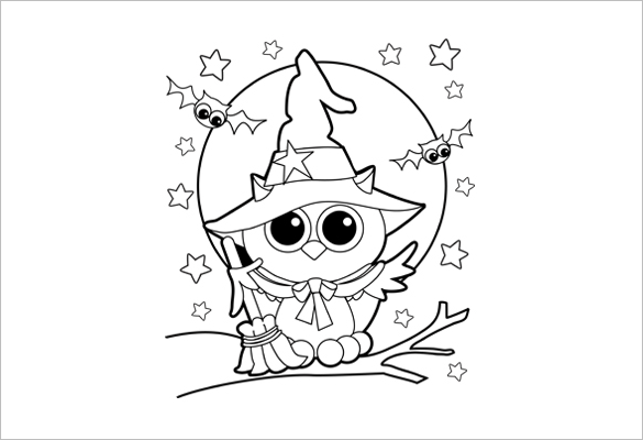 20 halloween coloring pages  pdf png  free & premium