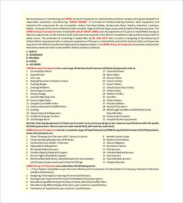 kitchen equipment list menards islands template 10 free word excel pdf format download