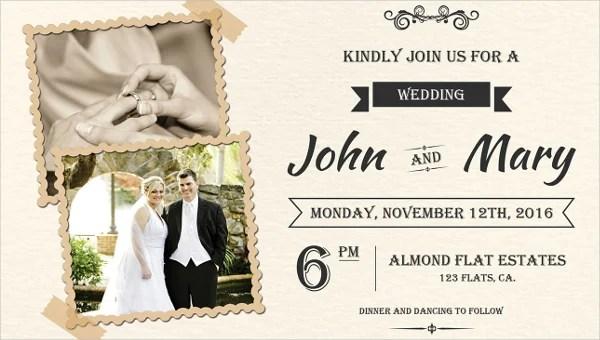 85 wedding invitation templates psd