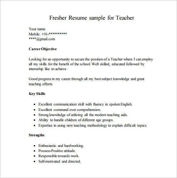 key strengths in resume