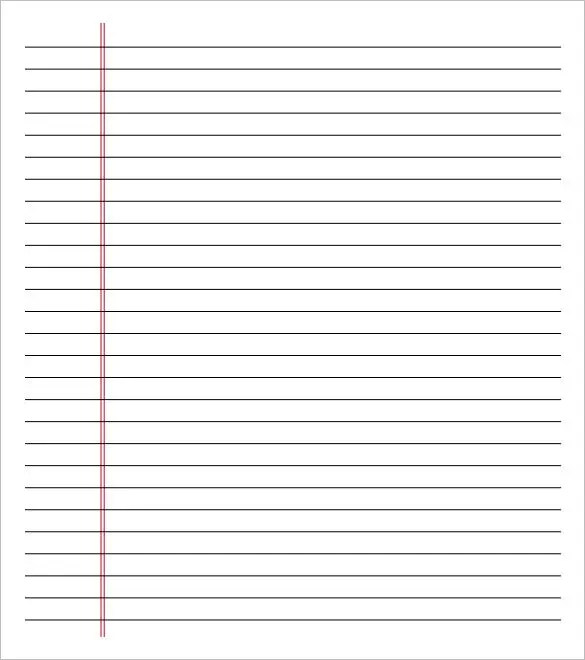 image regarding Printable Wide Ruled Paper called 25+ Printable Creating Paper Extensive Rule Landscape Illustrations or photos and
