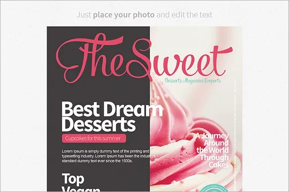 free magazines cover templates
