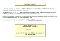 Arithmetic And Geometric Sequences Worksheet Pdf ...
