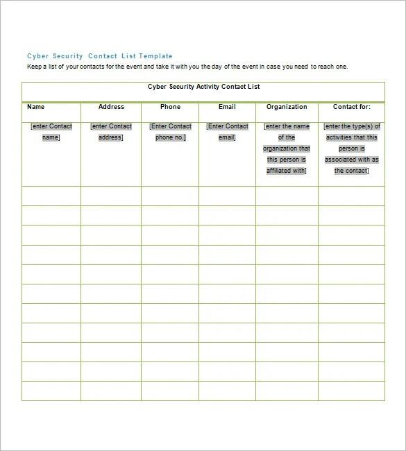family reunion address book