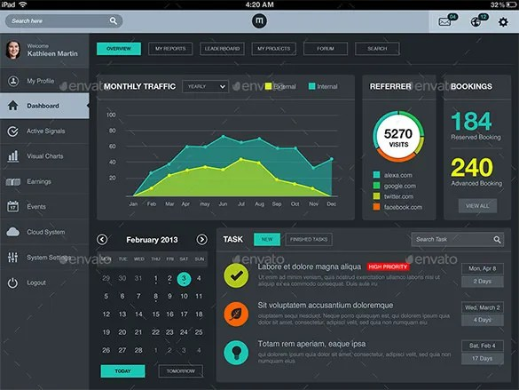 23 Amazing Dashboard Designs That Will Inspire You