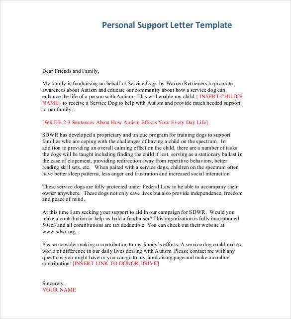 40 Personal Letter Templates PDF DOC Free & Premium