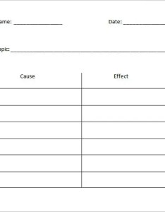 Free cause  effect  chart in ms word also templates doc pdf premium rh template