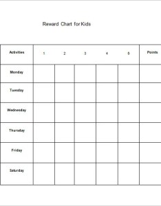 Kids reward chart free word template downlaod also templates doc pdf excel  premium rh
