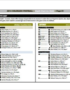 Football depth chart for colorado free pdf download also templates doc excel  premium rh template