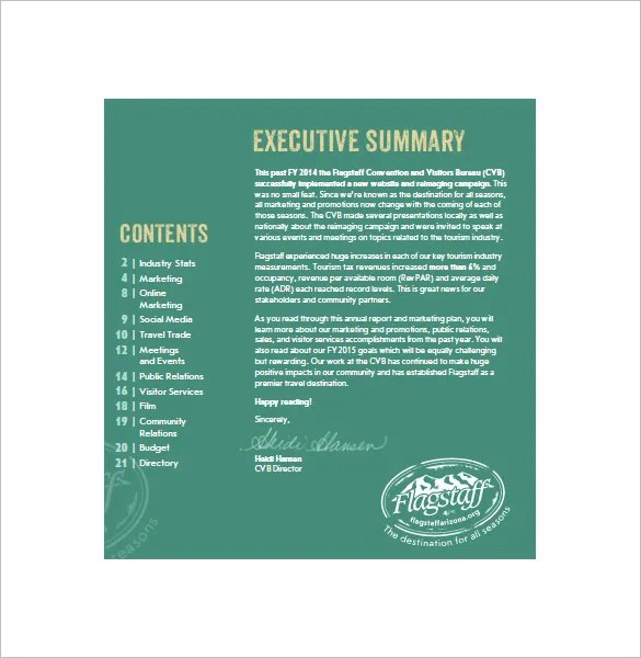 8 Annual Marketing Plan Templates Docs PDF Free Amp Premium Templates