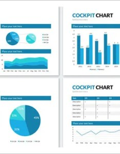 Cockpit chart powerpoint presentation sample template also free example format rh