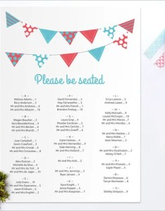 Printable seating chart template for wedding also  free sample example format rh