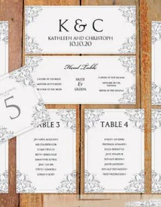 Wedding seating chart template download also  free sample example format rh