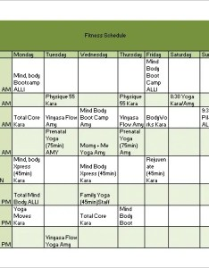 Fitness workout schedule template also templates pdf doc free  premium rh
