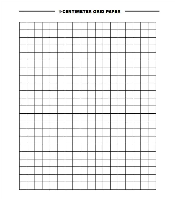 centimeter graph paper pdf