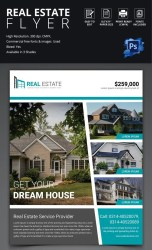 flyer estate template simple templates
