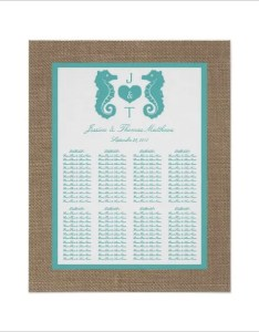 Beach wedding seating chart example template also  free sample format rh