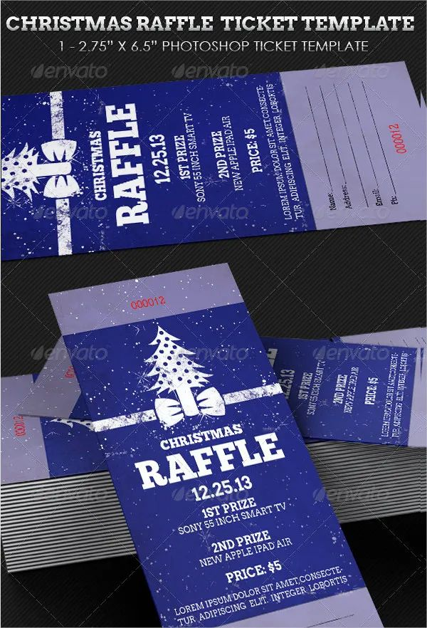 ticket printable