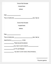 167+ Note Templates