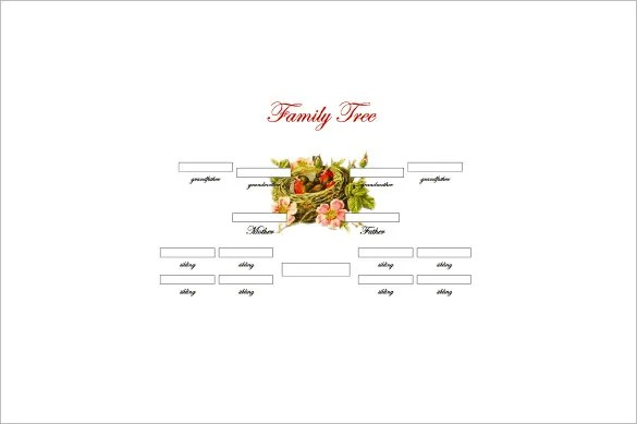3 Generation Family Tree Template 10 Free Sample Example Format Download Free Premium