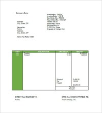 18+ Travel Invoice Templates - PDF, DOC, Excel | Free ...