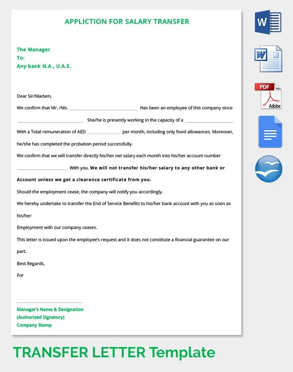 Request for bank account statement letter sample cover sample transfer confirmation letter yadclub Image collections