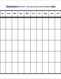 Sample training and exercise schedule template in word format also templates doc pdf free  premium rh