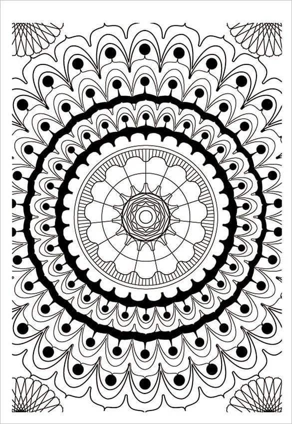 18 Mandala Coloring Pages Free Word Pdf Jpeg Png Format Download Free Premium Templates