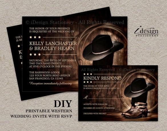 Wedding Invitation Template  71 Free Printable Word PDF