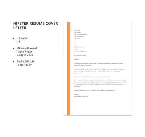 Resume Cover Letter 23 Free Word Pdf Documents Download Free Premium Templates