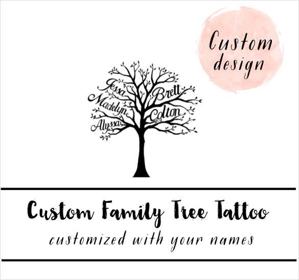 simple pedigree diagram how to draw a bar 37+ family tree templates - pdf, doc, excel, psd | free & premium