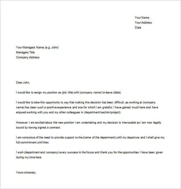 how to write a simple letter