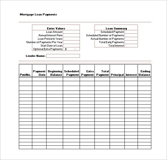loan payment tracking spreadsheet - April.onthemarch.co