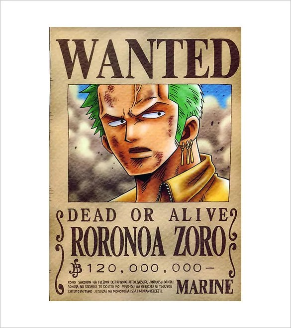 11 one piece wanted