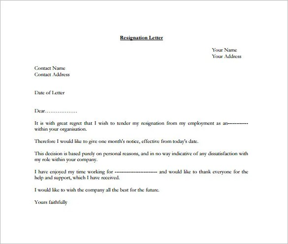 letter sample forced resignation letter sample free