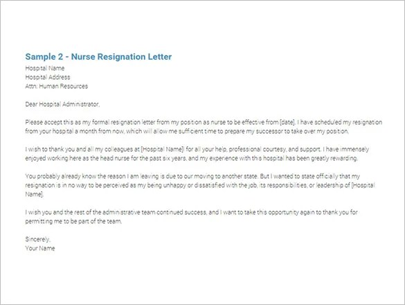 Carpet Cleaning Cover Letter Sample. Sample Resignation Letter For