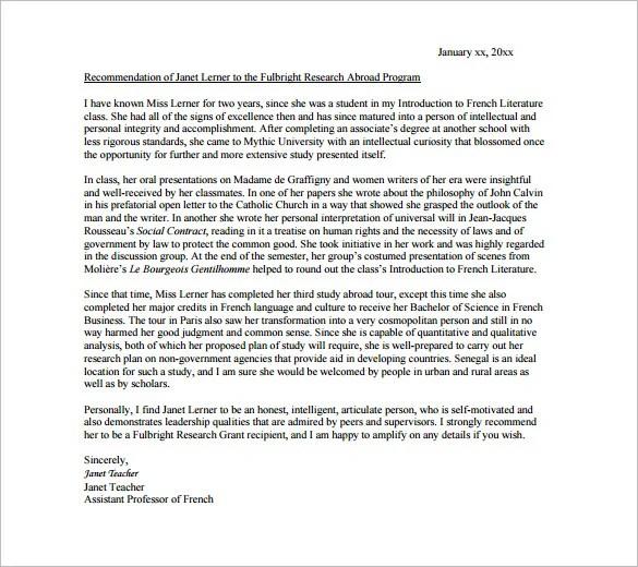 Reference Letter For Phd Scholarship Resume Maker Create