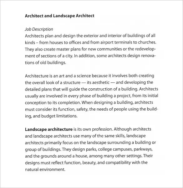 25 Landscaping Architect Job Description Pictures And Ideas On Pro