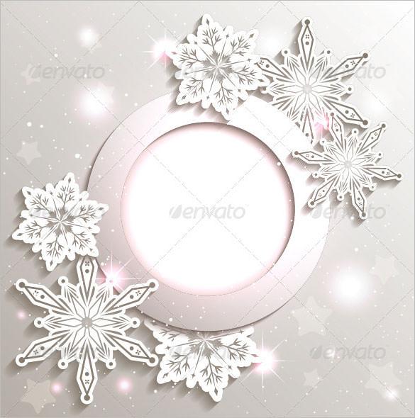 178 Christmas Snowflake Templates Free Printable Word