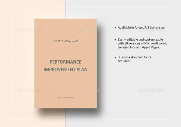 10+ Performance Improvement Plan Templates - Free Sample, Example ...