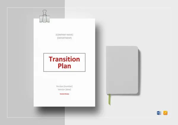 business transition plans examples