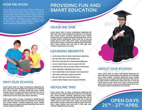 24 Kindergarten Brochure Templates Free & Premium Templates