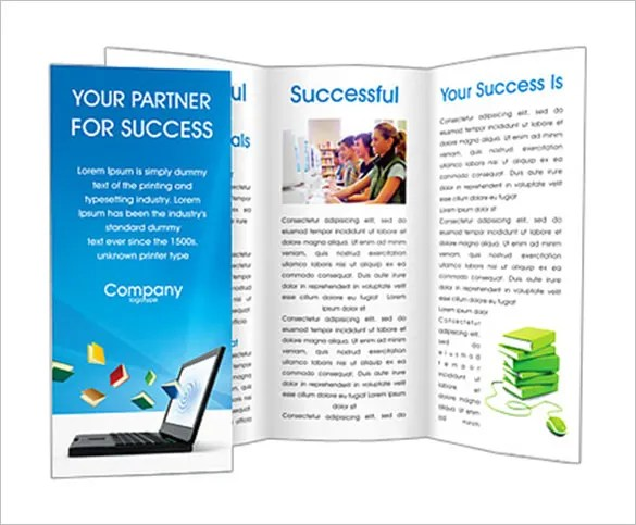 24 Library Brochure Template Free PSD EPS AI InDesign Word
