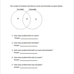 Word Problems Involving Venn Diagram Smiths Water Temperature Gauge Wiring 9 Worksheet Templates Pdf Doc Free Premium Questions Based On Diagrams